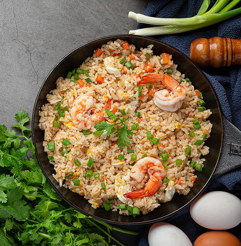 Ricetta di riso ai gamberetti