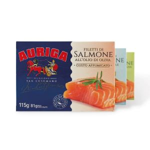 Salmone in scatola