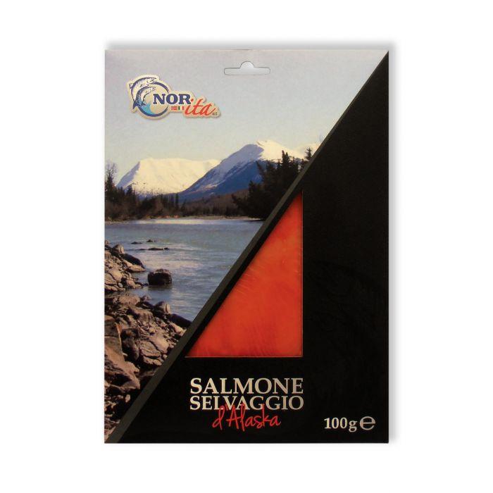 Salmone  Sockeye Selvaggio d'Alaska